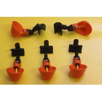 Set of 5 Waterer Cup with a PVC Slip